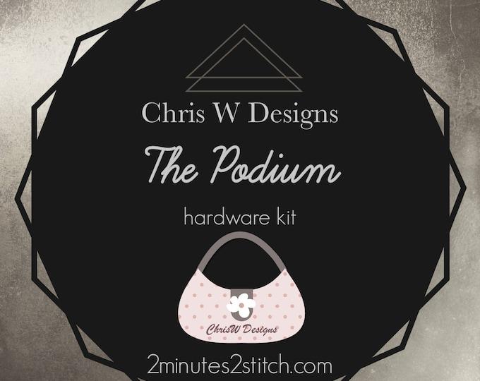 The Podium - Chris W Designs - Hardware Kit Only