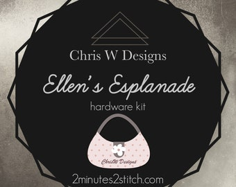 Ellen's Esplanade - Chris W Designs - Hardware Kit Only