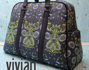 Vivian Handbag & Traveler - Swoon Patterns - Bag Pattern