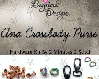Ana Crossbody Bag - Bagstock Designs - Hardware Kit Only