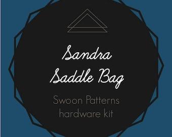 Sandra Saddle Bag - Swoon Hardware Kit
