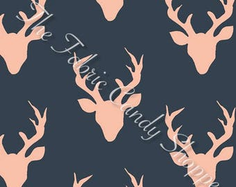 Woodlands Fusion by Art Gallery Fabrics - Buck Forest Woodlands - Cotton Woven Fabric