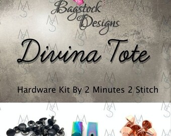 Divina Tote - Bagstock Designs - Hardware Kit Only