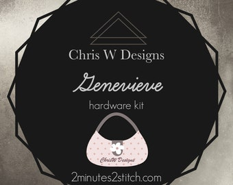 Genevieve - Chris W Designs - Hardware Kit Only