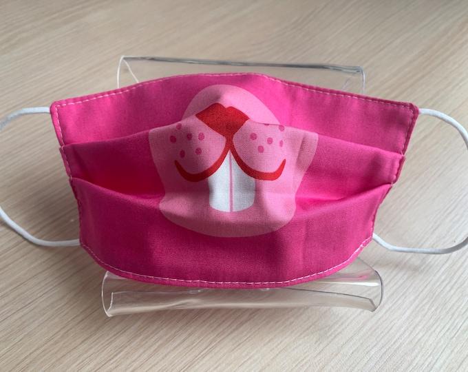 Child Size Face Mask - Kids Mask - Pleated Face Mask - Handmade Mask - Reusable Mask - Washable Mask - Non-Medical