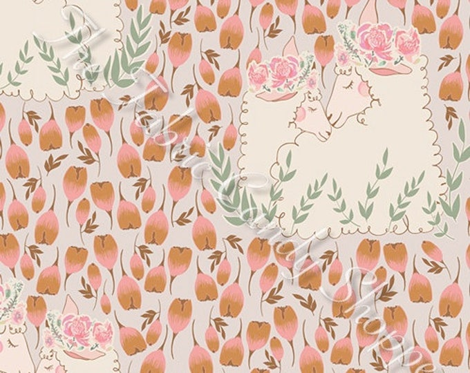 Lambkin by Art Gallery Fabrics - My Darling - Cotton Woven Fabric