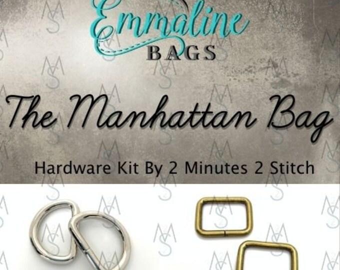 The Manhattan Bag - Emmaline Bags - Hardware Kit by 2 Minutes 2 Stitch