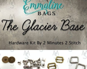 The Glacier Base Bag - Emmaline Bags - Hardware Kit by 2 Minutes 2 Stitch
