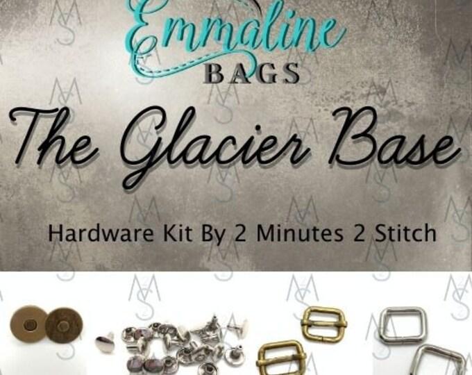 The Glacier Base Bag - Emmaline Bags - Hardware Kit by 2 Minutes 2 Stitch