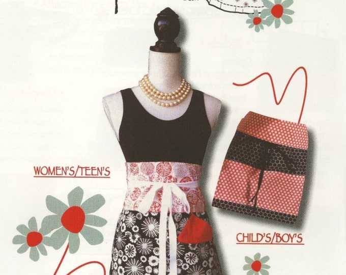 Trisha Jane Aprons by Trisha Jane Patterns - Paper Pattern
