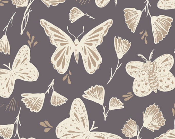 Hello, Ollie by Art Gallery Fabrics - Sweetly Sings Glimmer - Organic Cotton Woven Fabric