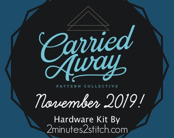 Carried Away Pattern Collective - November 2019 Hardware Kit - Swoon Patterns