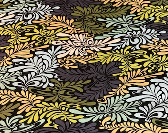 Moonshine by Tula Pink - Camo Deluxe Midnight PWTP057 - Cotton Woven Fabric