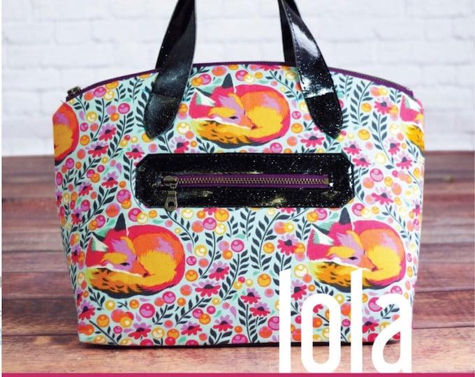 Lola Domed HandBag - Swoon Patterns - Bag Pattern
