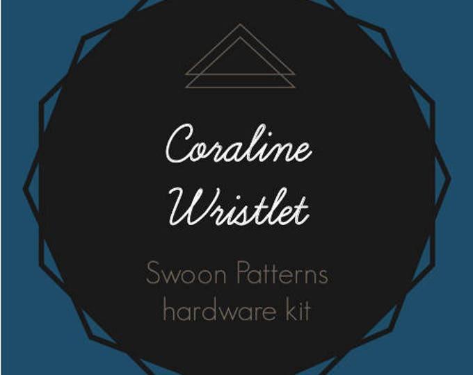Coraline Wristlet - Swoon Hardware Kit