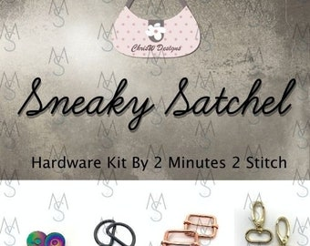 Sneaky Satchel - Chris W Designs - Hardware Kit Only