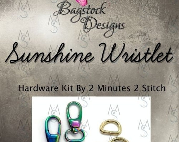 Sunshine Wristlet - Bagstock Designs - Hardware Kit Only