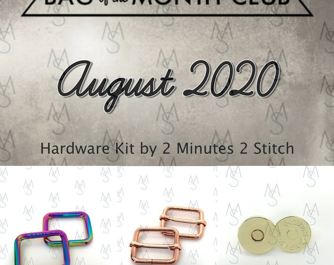 Bag of the Month Club - August 2020 Hardware Kit - Sewing Patterns by Mrs H