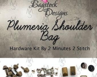 Plumeria Shoulder Bag - Bagstock Designs - Hardware Kit Only