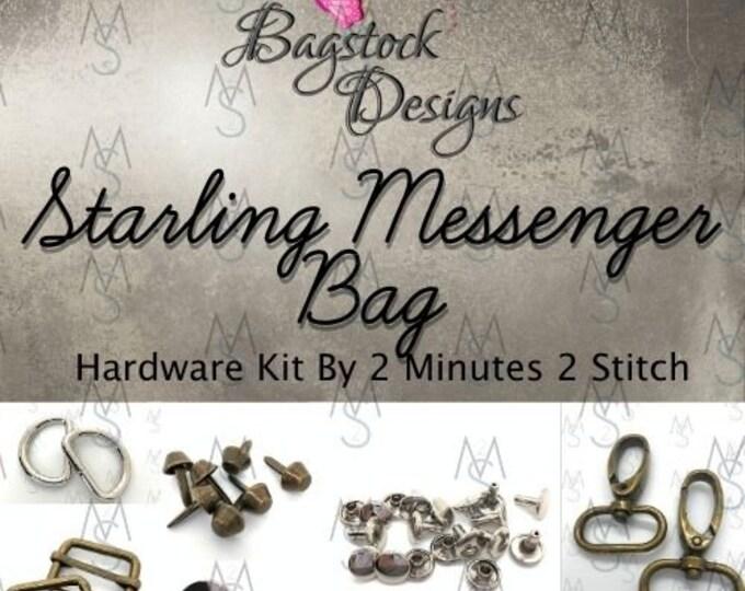 Starling Messenger Bag - Bagstock Designs - Hardware Kit Only