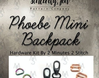 Phoebe Mini Backpack - Sincerely, Jen - Hardware Only