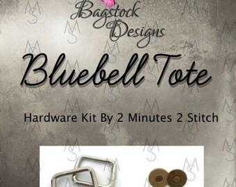 Bluebell Tote - Bagstock Designs - Hardware Kit Only