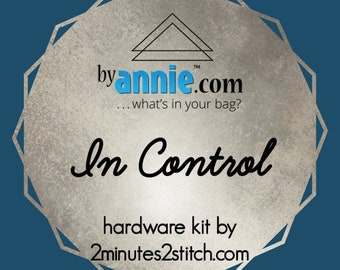 In Control - ByAnnie - Hardware Kit by 2 Minutes 2 Stitch