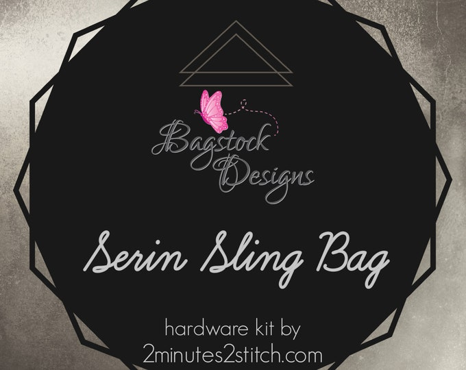 Serin Sling Bag - Bagstock Designs - Hardware Kit Only