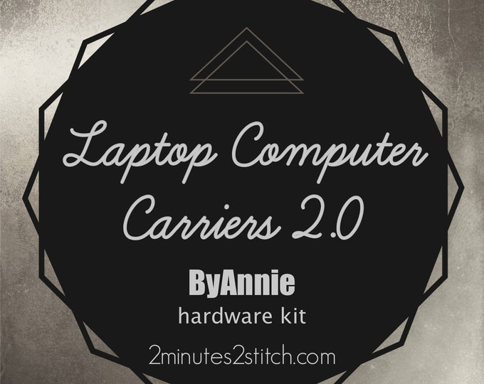 Laptop Computer Carrier 2.0 Bag ByAnnie - Hardware Kit Only