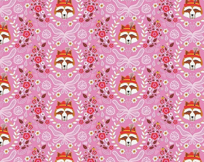 Vienna by Riley Blake - Vienna Main Pink - Cotton Woven Fabric