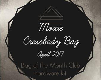 Moxie Crossbody Bag Hardware Kit - Bag of the Month Club - Betz White - April 2017 Hardware Kit