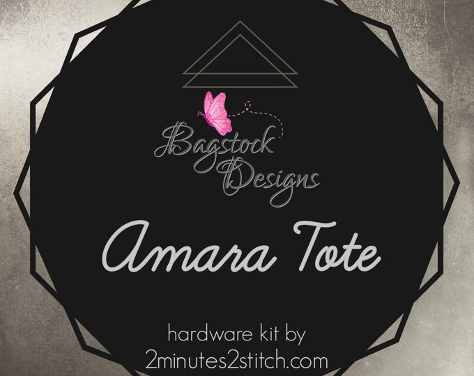 Amara Tote - BagStock Designs - Hardware Kit Only