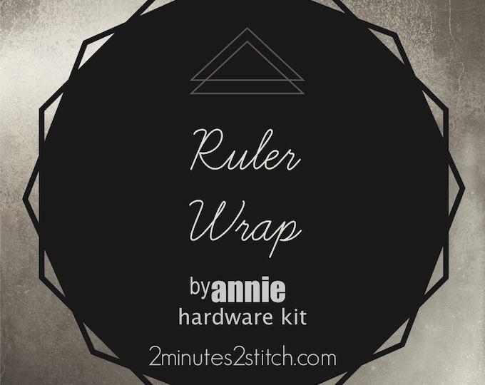Ruler Wrap - byAnnie Hardware Kit - Bag Making Hardware