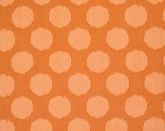 Moonshine by Tula Pink - Static Dot Tangerine PWTP061 - Cotton Woven Fabric