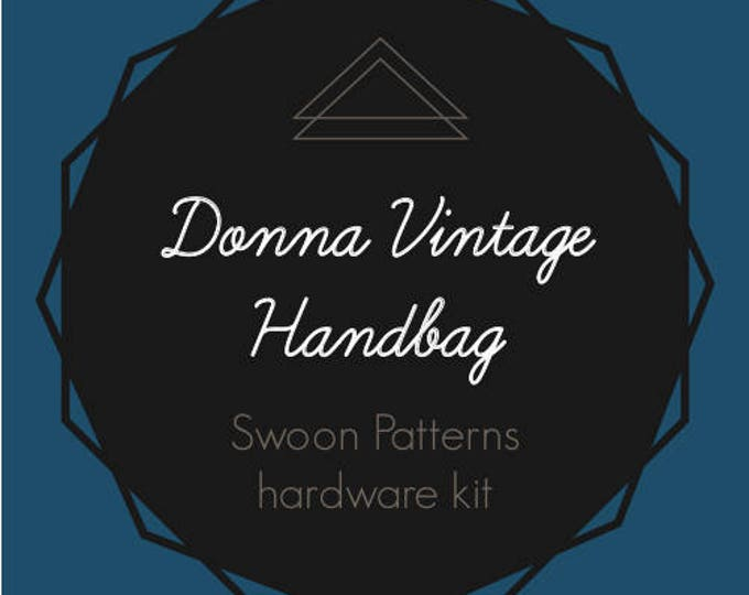 Donna Vintage Handbag - Swoon Hardware Kit