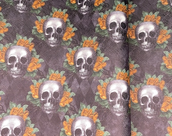 Faux Leather - Printed Faux Leather Roll - 12 x 54 Inches - 2 Minutes 2 Stitch