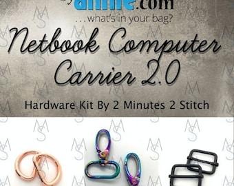 Netbook Computer Carrier 2.0 - ByAnnie - Hardware Kit by 2 Minutes 2 Stitch