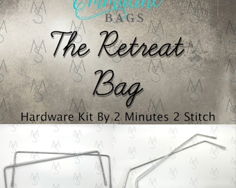 Retreat Bag Hardware Kit - Emmaline Bags - Hardware Kit by 2 Minutes 2 Stitch