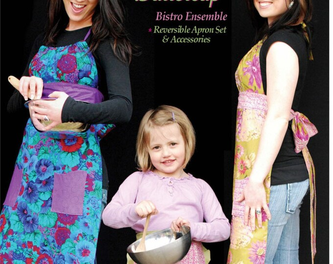 Bombshell Beauty & Princess Buttercup Apron by Susan Rooney Patterns - Paper Pattern