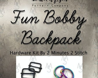 Fun Bobby Backpack - Sincerely, Jen - Hardware Only