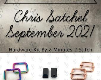 Chris Satchel - September 2021 Hardware Kit - Bag of the Month Club - Uh Oh Creations - Tara S Sinclair