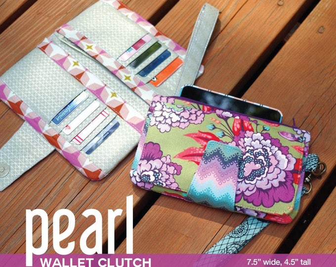 Pearl Wallet Clutch - Swoon Patterns - Bag Pattern
