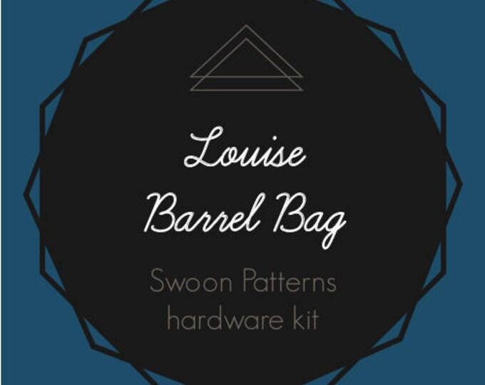Louise Barrel Bag Hardware Kit - Bag of the Month Club - May 2017 Hardware Kit
