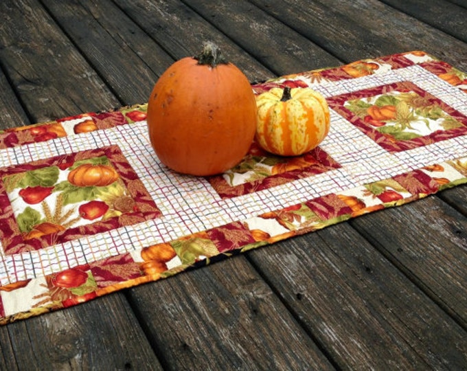 Easy Quilted Table Runner Pattern