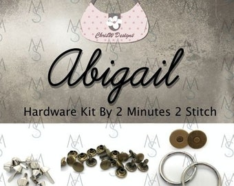 Abigail Bag - Chris W Designs - Hardware Kit Only