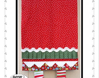 Jingle Boots Holiday Table Runner by Sew Much Good - Paper Pattern