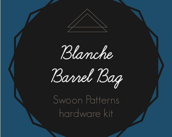 Blanche Barrel Bag - Swoon Hardware Kit - Rectangle Rings