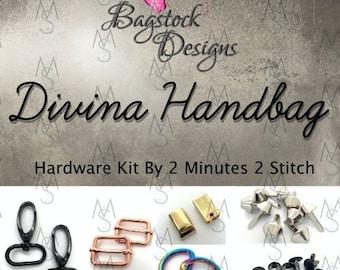 Divina Handbag - Bagstock Designs - Hardware Kit Only