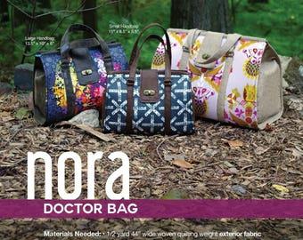 Nora Doctor Bag - Swoon Patterns - Bag Pattern