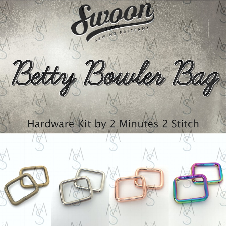Betty Bowler Bag  Swoon Patterns  Swoon Hardware  Betty image 0